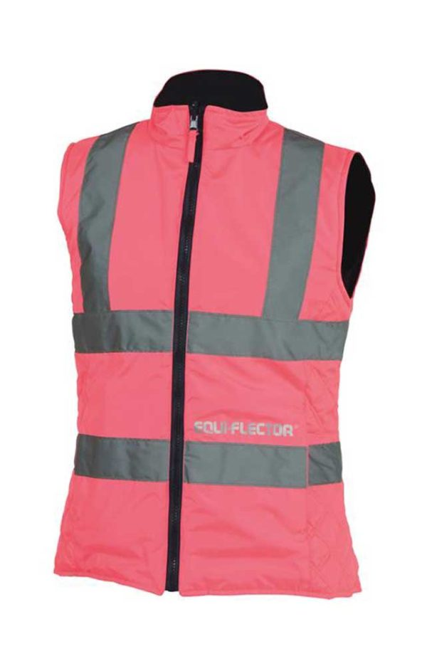 Equi-Flector Ladies Waistcoat Pink
