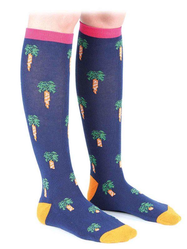 Bridleway Ladies Carrot Socks