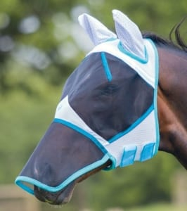 V066 Bridleway Fly Mask with Ears and Nose
