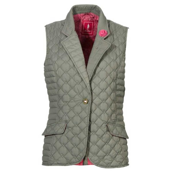 Jack Murphy Esme Quilted Gilet Contemporary
