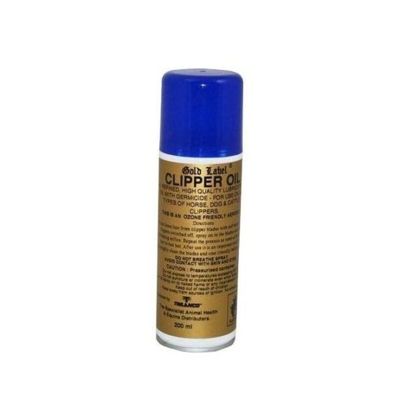 Gold Label Clipper Oil Aerosol - gold label clipper oil aerosol 200ml