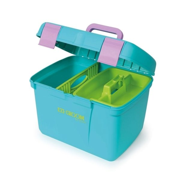 Ezi-Groom Deluxe Grooming Box - 1505 aqua 5