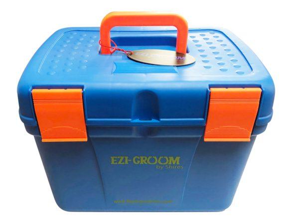 Ezi-Groom Deluxe Grooming Box - ezi groom deluxe grooming box blue