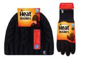 Heat Holders Hat and Glove Set