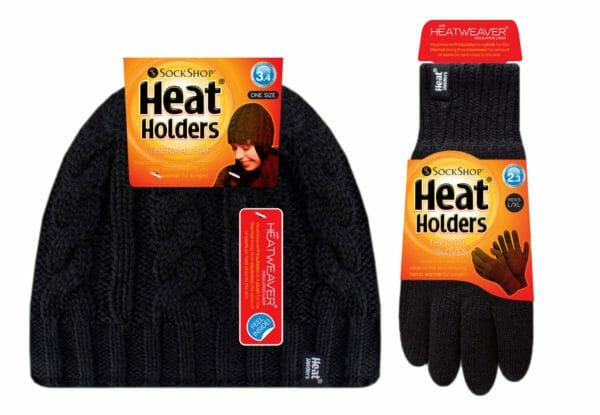 Heat Holders Hat and Glove Set
