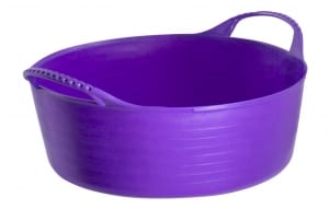 Gorilla Tub Shallow 5 litre Purple