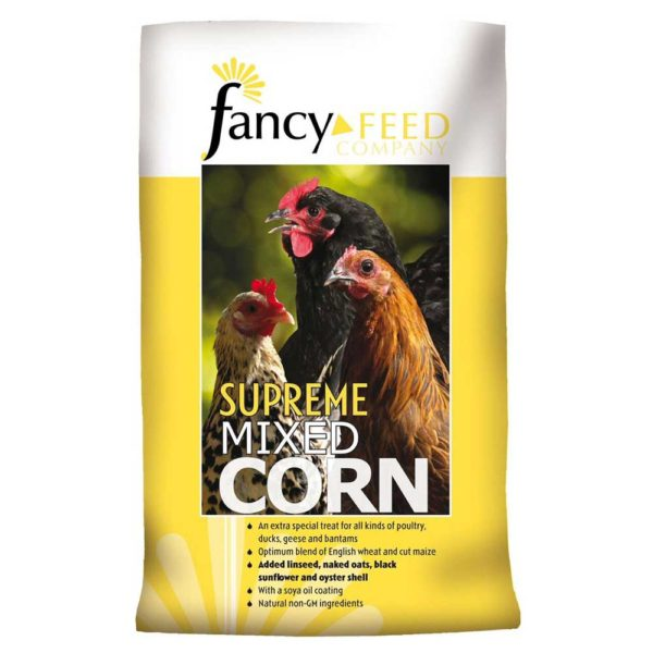 Fancy Feeds Supreme Mixed Poultry Corn 20kg - supreme mixed poultry corn