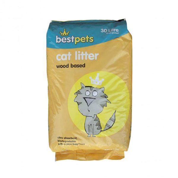 Woodbase Cat Litter