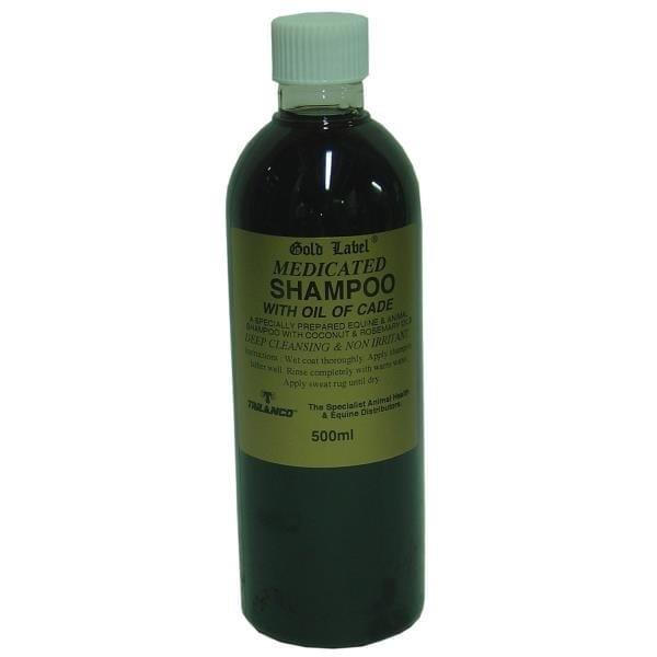 Gold Label Medicated Shampoo - gold label medicated shampoo