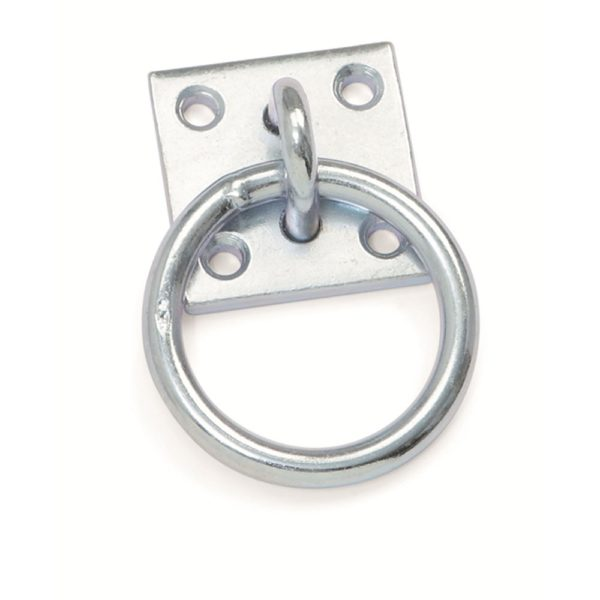 Tie Ring with Plate - tie ring with plate