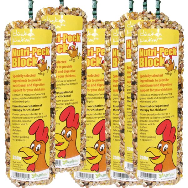 Chicken Lickin Nutri-Peck Treat Blocks