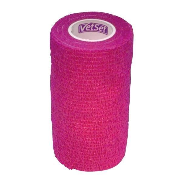 VetSet Wraptec Cohexsive Bandage 100mm - 9ZG3MTMVST VTS0250