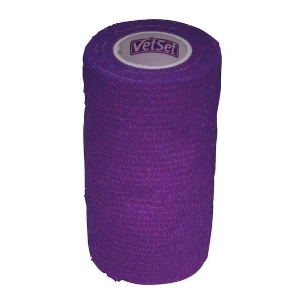 VetSet Wraptec Cohexsive Bandage 100mm - FU4EBXYJ6F VTS0255
