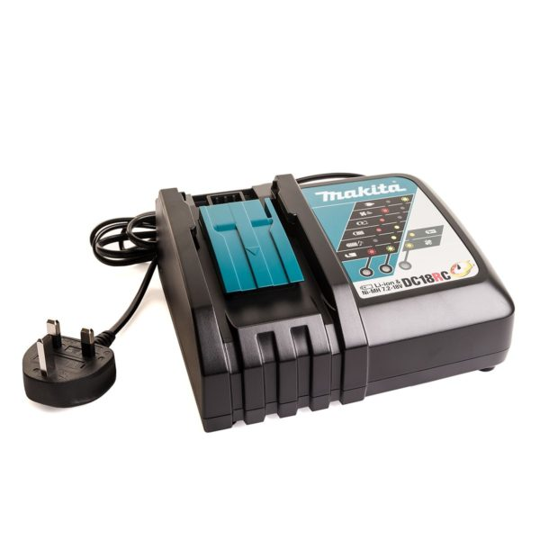 Makita DC18RC Lithium-ion Battery Charger - makita dc18rc lithium ion battery charger