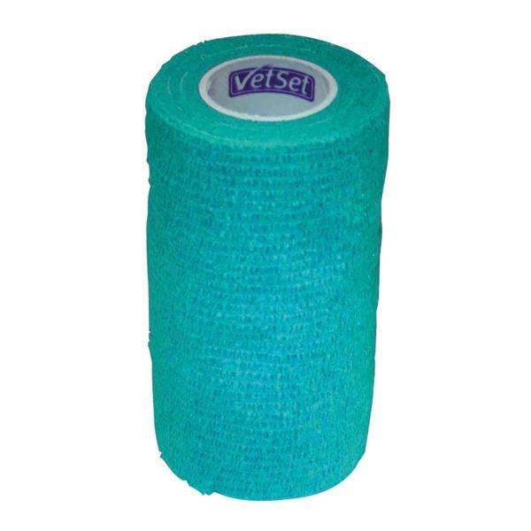 VetSet Wraptec Cohexsive Bandage 100mm - vetset wraptec cohexsive bandage 100mm