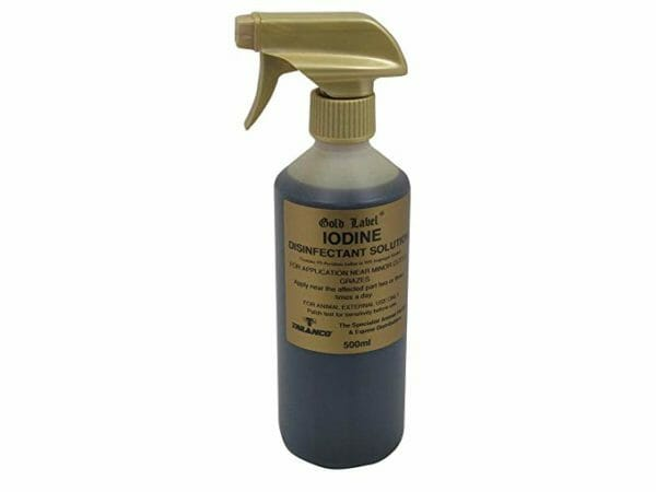 Gold Label Iodine Spray 500ml - GLD1025