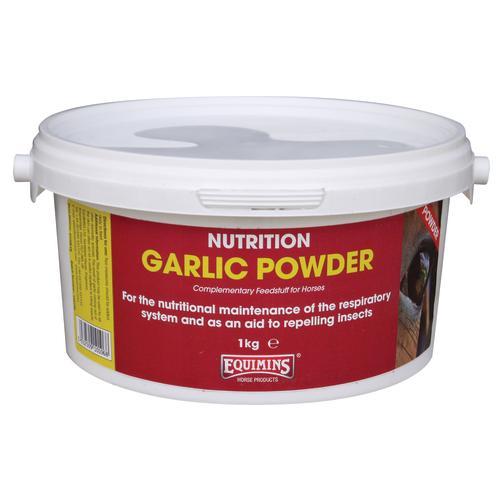 Equimins Garlic Powder Tub: 1 Kg - equimins garlic powder tub 1 kg