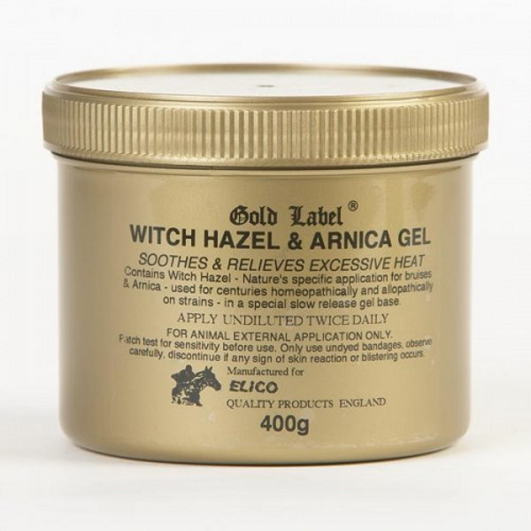 Gold Label Witch Hazel & Amica Gel: 400gm - gold label witch hazel amica gel 400gm