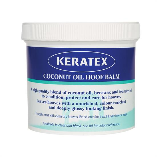 Keratex Coconut Oil Hoof Balm Clear 400g - keratex coconut oil hoof balm 400g