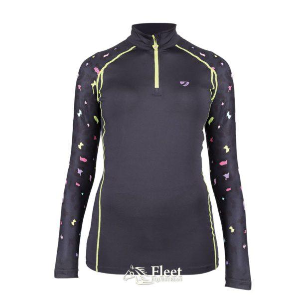Aubrion Hyde Park Cross Country Shirt - Ladies - 8193 leopard 2