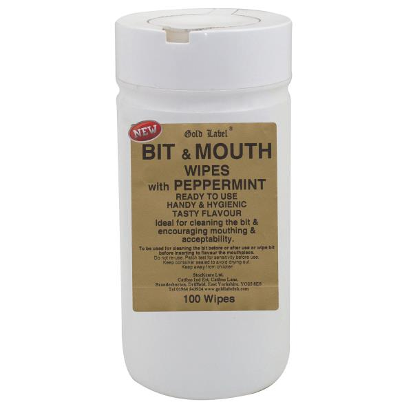 Gold label Bit and Mouth Wipes - SJLKODHY5F GLD1785 bit wipes