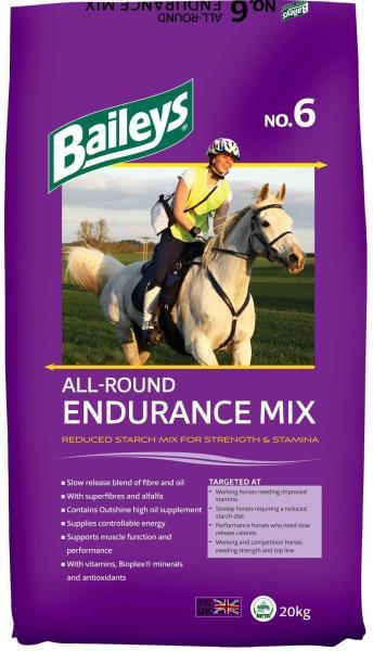 Baileys No 6 All Round Endurance Mix 20Kg. - baileys no 6 all round endurance mix 20kg