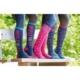 Bridleway Daydreamer Mulite 3 Pack Socks: Blue-Navy-Pink - bridleway daydreamer mulite 3 pack socks blue navy pink