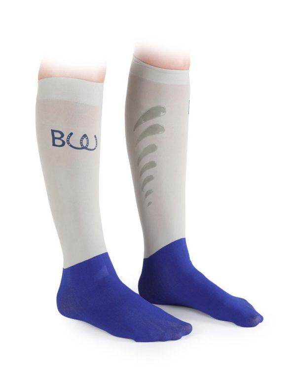 Kirsty Sleek Socks - v820 grey1