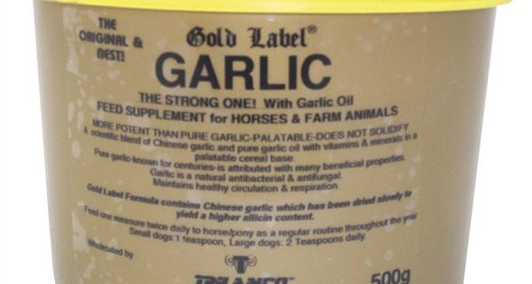 garlic powder tub