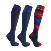 Hy Signature Socks (Pack of 3) - hy signature socks pack of 3