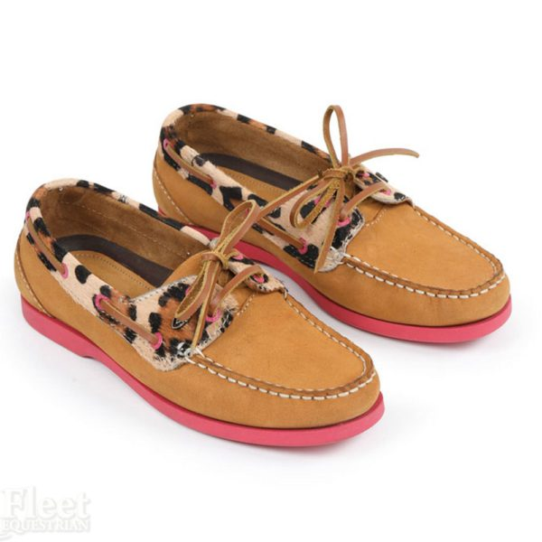 Moretta Avisa Deck Shoes - 9919 LEOPARD