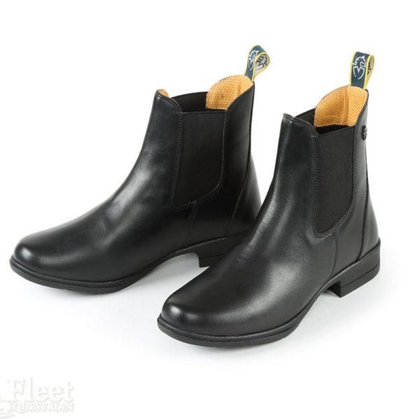 Moretta Alma Jodhpur Boots - 9939 9939C BLACK