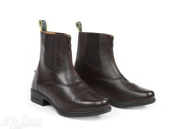 Moretta Rosetta Paddock Boots Brown