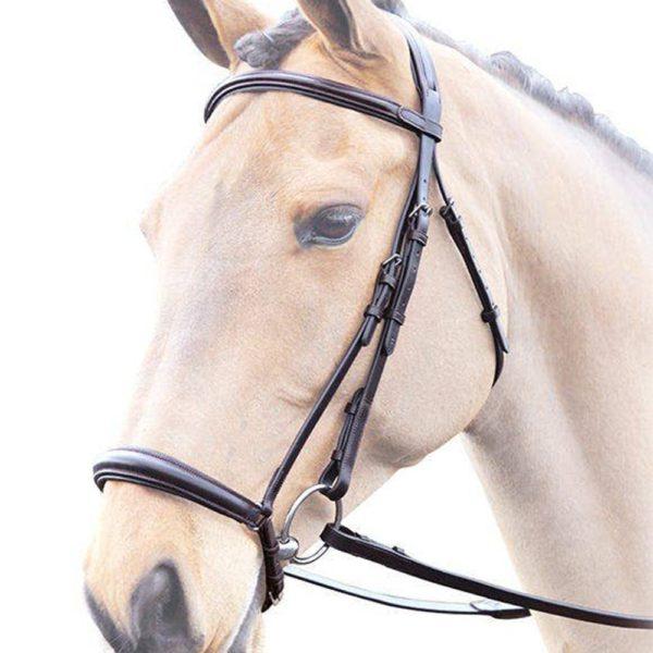Lavello Drop Noseband Bridle - lavello drop noseband bridle