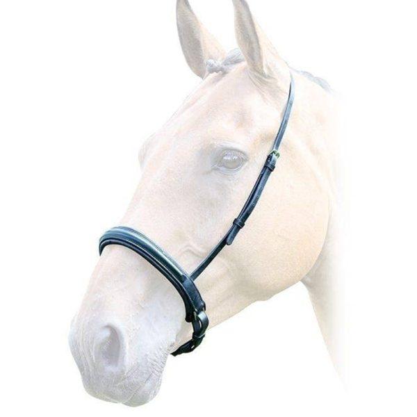 Lavello Padded Crank Cavesson Noseband - lavello padded crank cavesson noseband