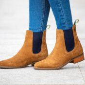 Moretta Rosalie Heeled Chelsea Boots - moretta rosalie heeled chelsea boots
