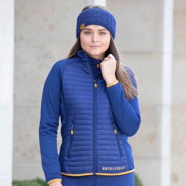 Bridleway Jenny Insulated Jacket - Ladies - v821 navy
