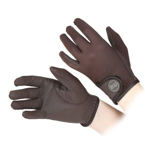 Windsor Riding Gloves - Child - v836 brown 1 2 1
