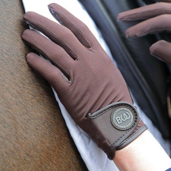 Windsor Riding Gloves - Child - v836 brown 5