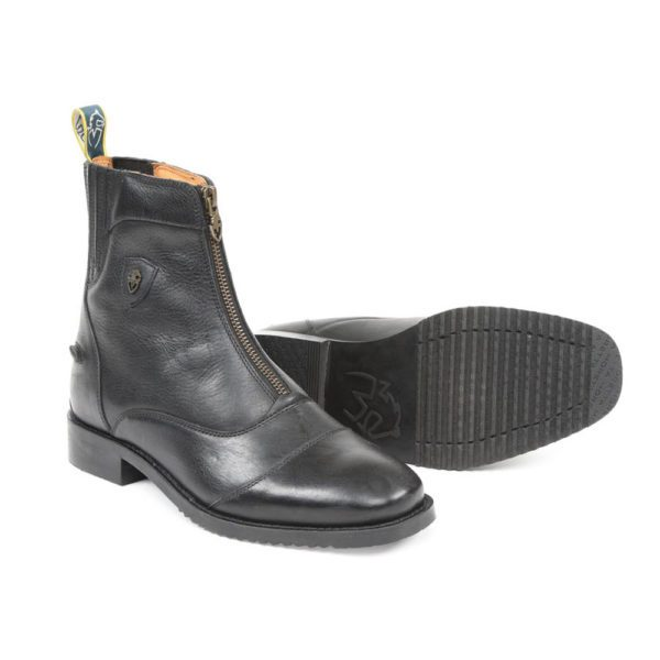 Moretta Viviana Zip Paddock Boots - Ladies - 8229 black 1 3