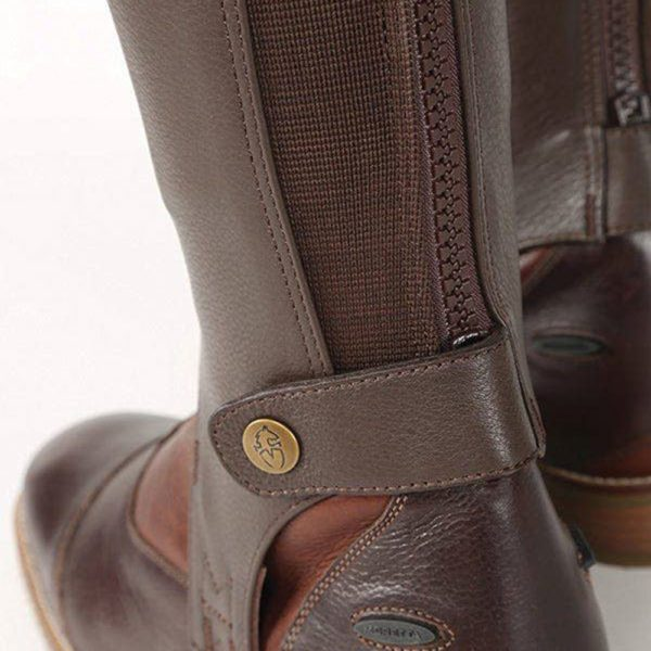 Moretta Leather Gaiters - Adults - 9723 chestnut 1 4 1