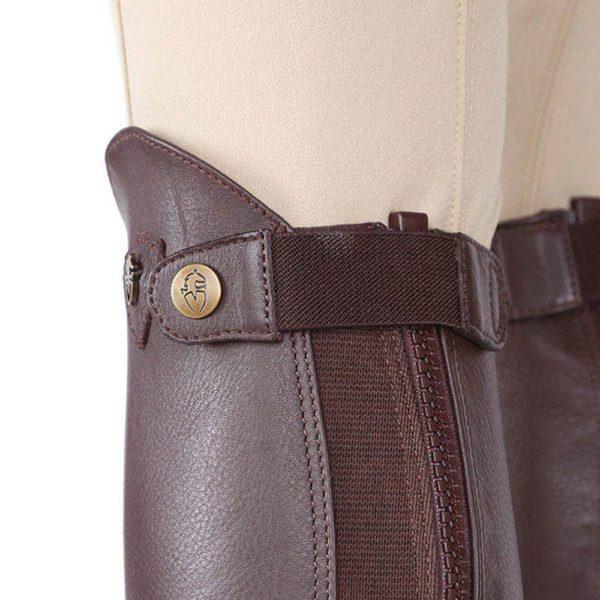 Moretta Leather Gaiters - Adults - 9723 chestnut 2 1 1