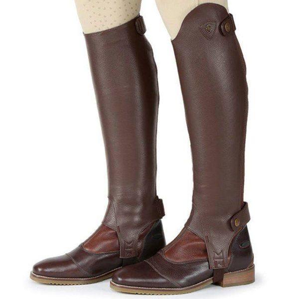 Moretta Leather Gaiters - Adults - 9723 chestnut 3 1