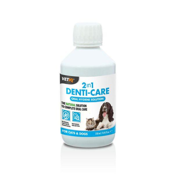 Vetiq 2in1 Denti-Care Oral Hygiene Solution for Cats & Dogs - MCH0105