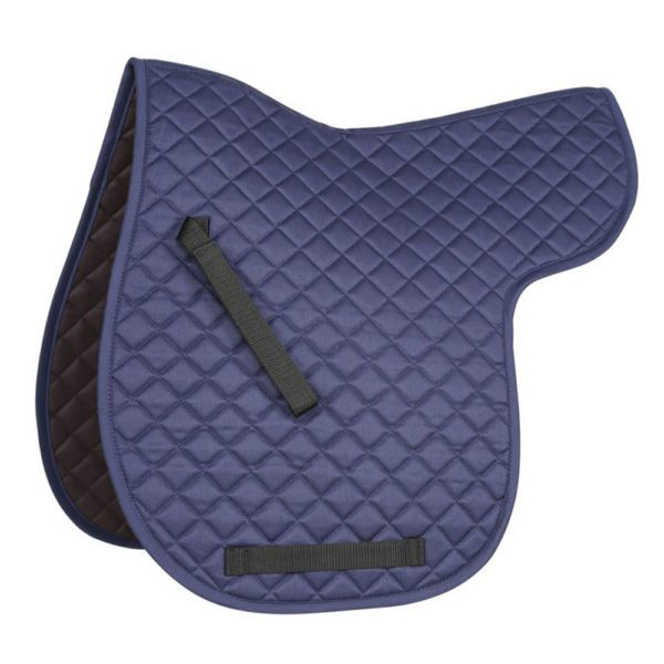 Bridleway Quick Dry Quilted Numnah - v567 navy 3 3