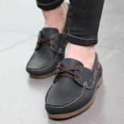 Bridleway Deck Shoes - v805 navy 3