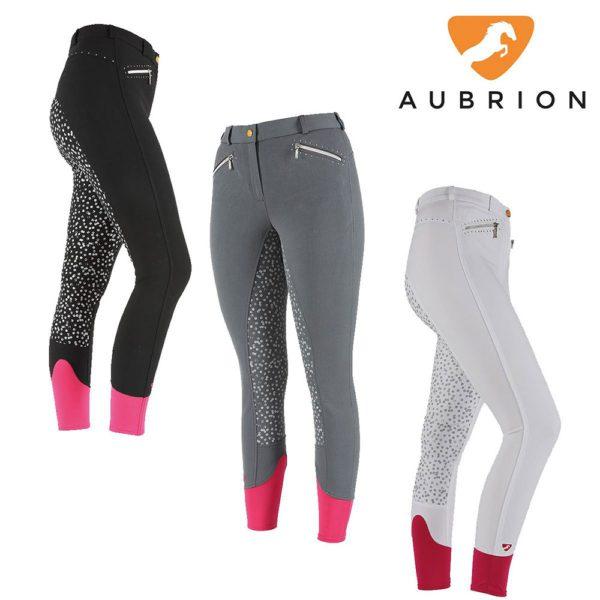 Aubrion Ladies Madison Breeches - aubrion ladies madison breeches