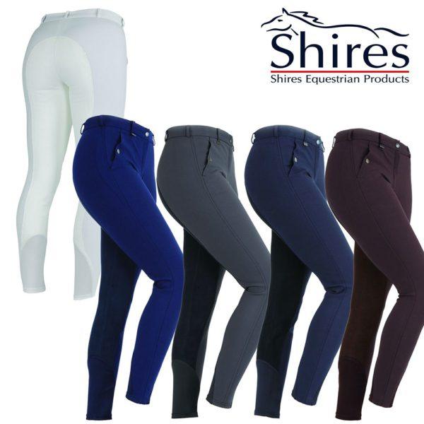Shires Ladies Cambridge Performance Breeches - shires ladies cambridge performance breeches