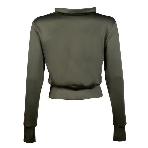 HKM Survival Sweatshirt - NRMB8XEZRB hkm survival sweatshirt green studio back 12404