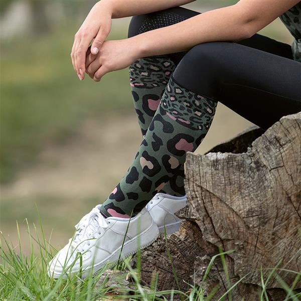 HKM Survival Riding Socks - RCELMYRAKD hkm survival riding socks green lifestyle 12283